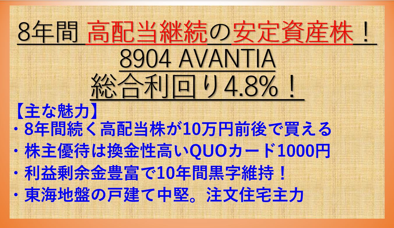 8904-AVANTIA-アイキャッチ-高配当継続