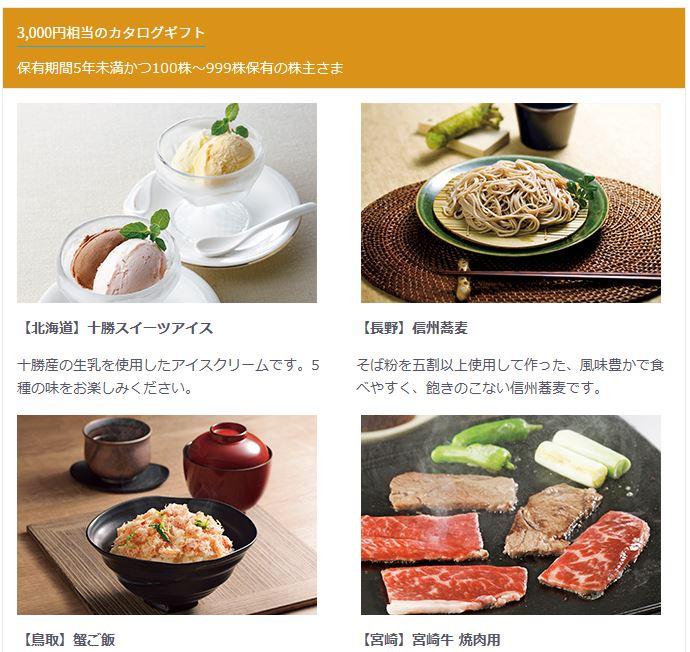 9433-KDDI-株主優待-カタログギフト6-3000円相当