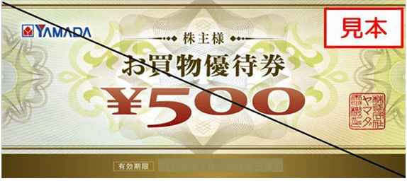 9831-ヤマダ電機-株主優券1