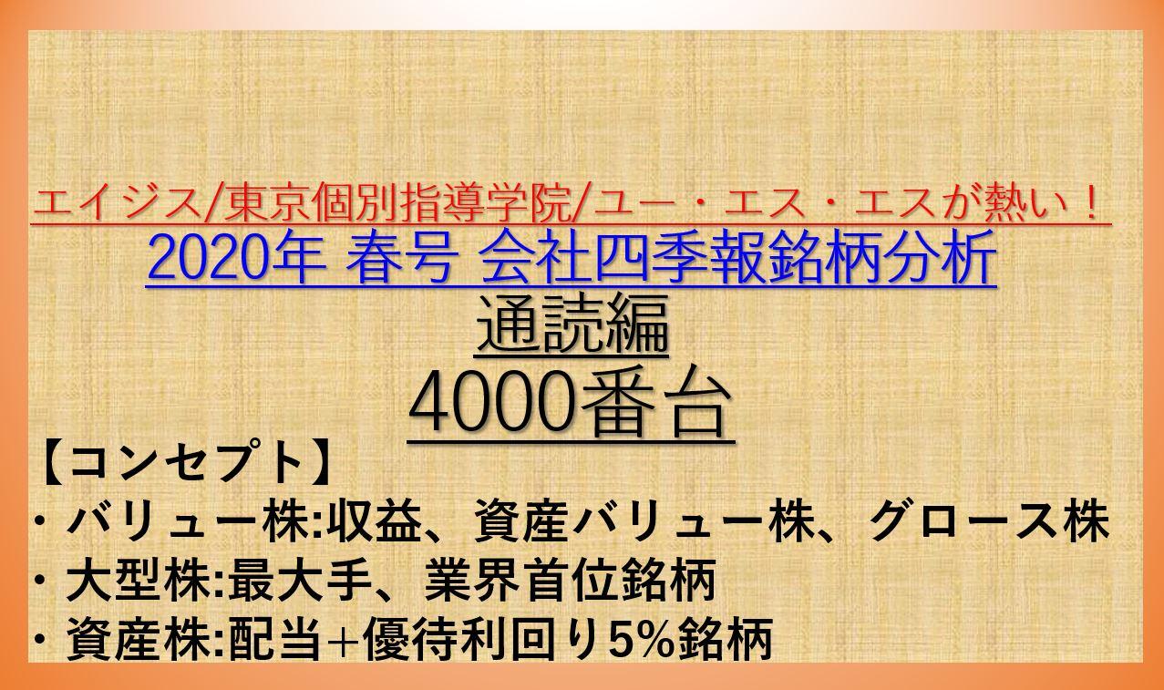 2020会社四季報春号-11