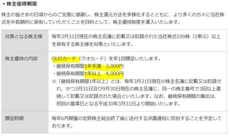 6904-原田工業-株主優待