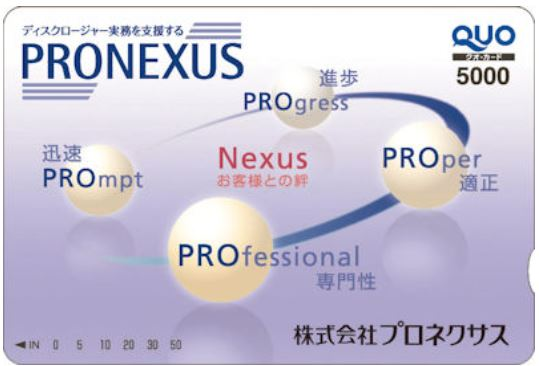 7893-プロネクサス-株主優待