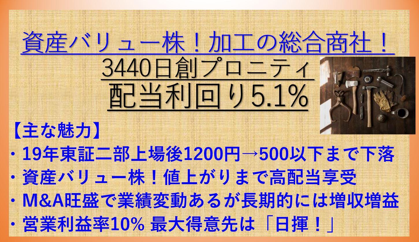 3440日創プロニティ