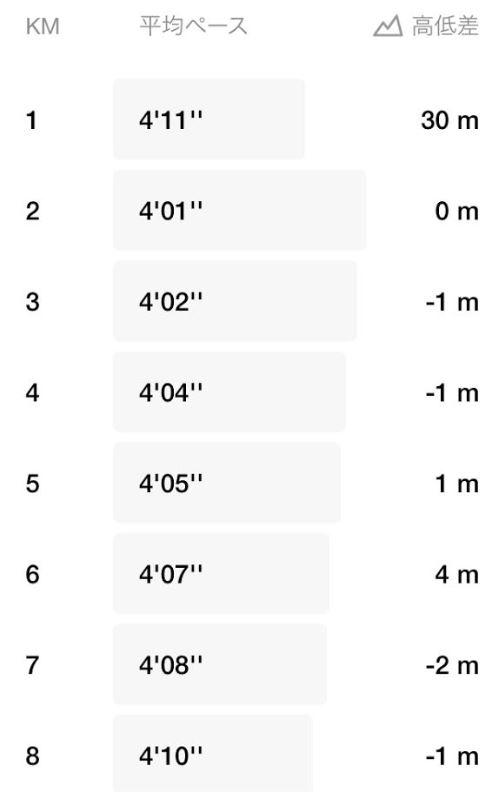 ハーフマラソン-サブ90挑戦2