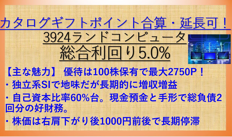 3924-ランドコンピュータ