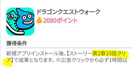 ちょびリッチ2080ポイント