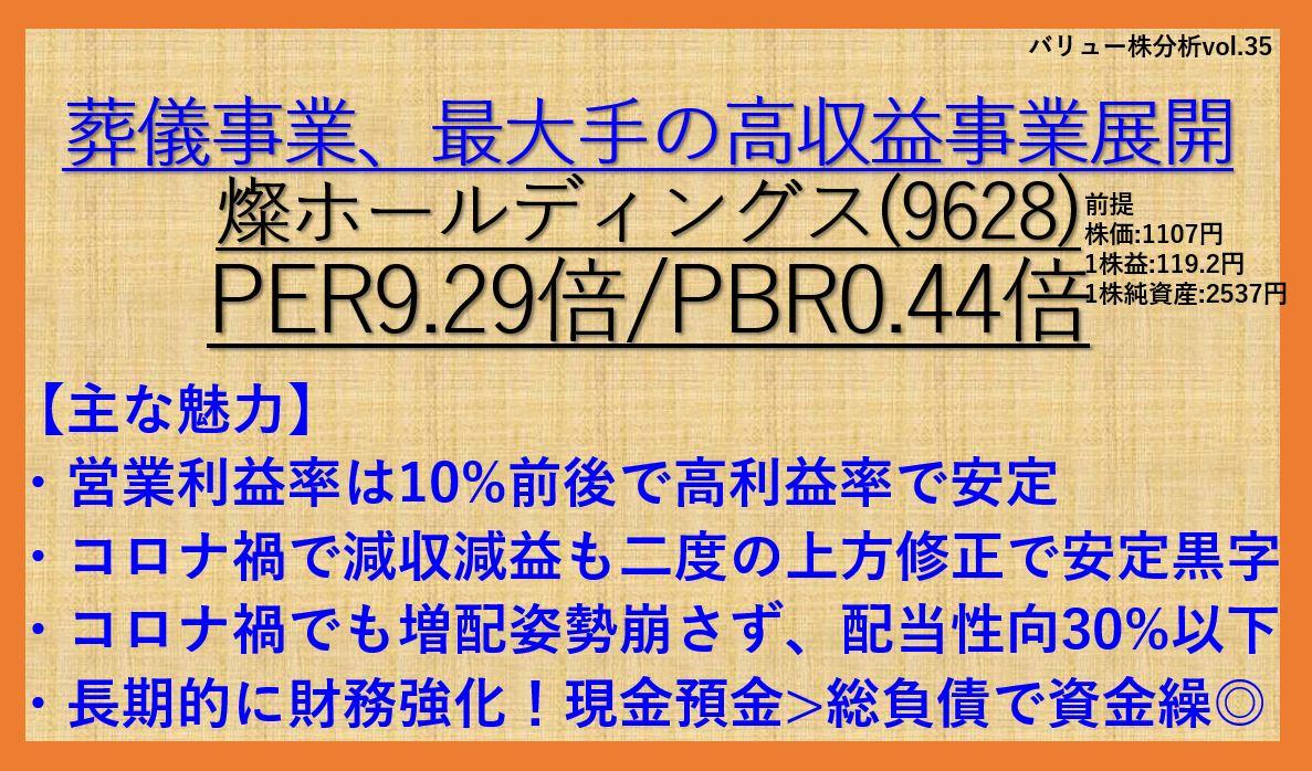 9628-燦ホールディングス-バリュー株分析