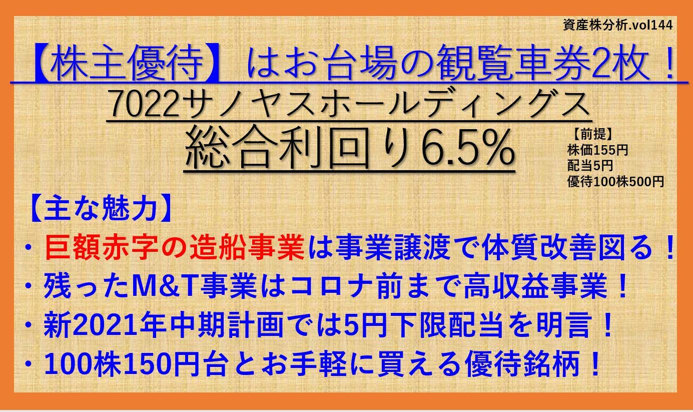 7022-サノヤスホールディングス-資産株