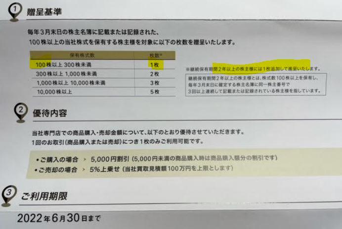 株主優待到着-シュッピン4.