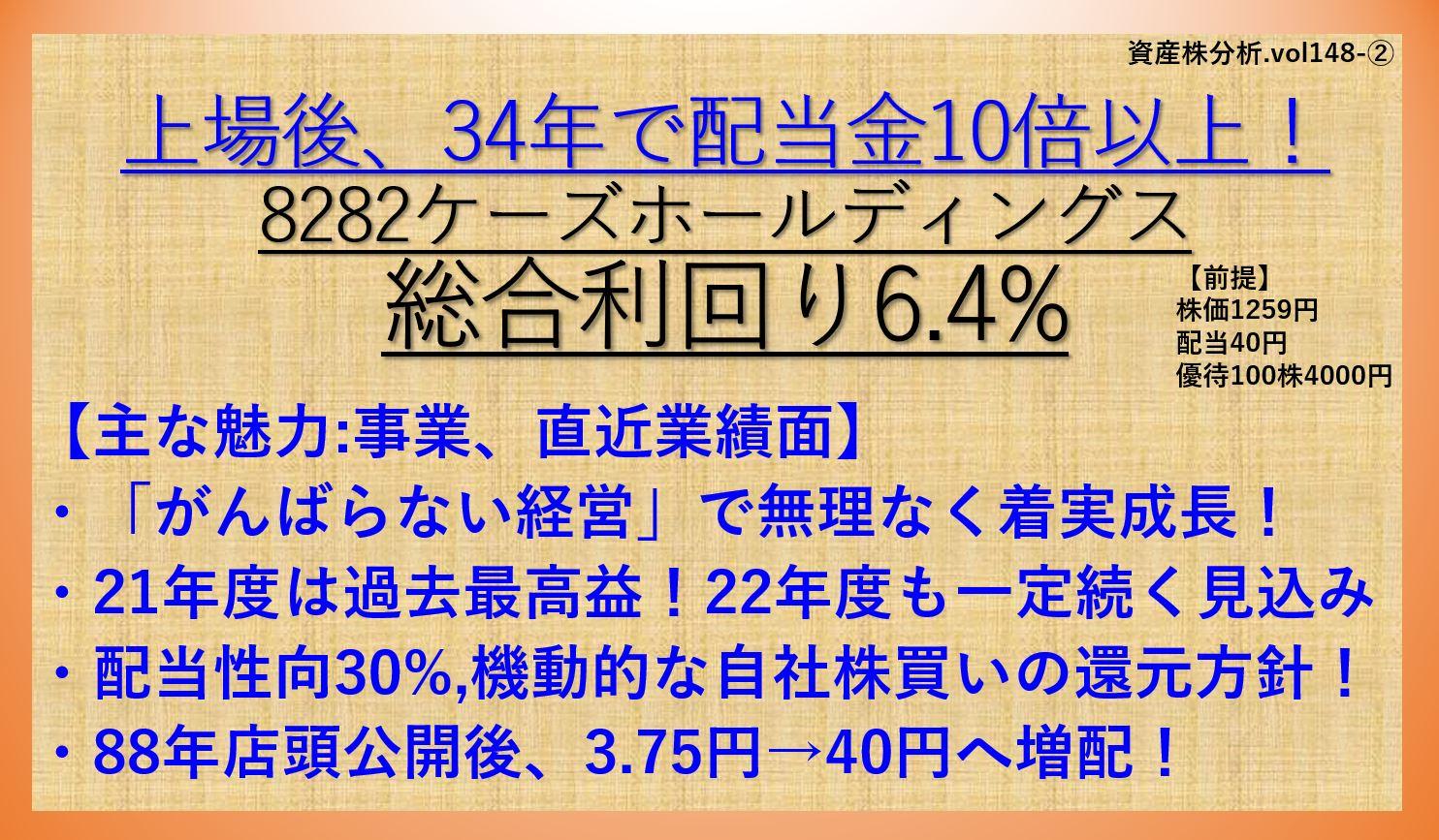 資産株-8282-ケーズホールディングス-銘柄分析2.