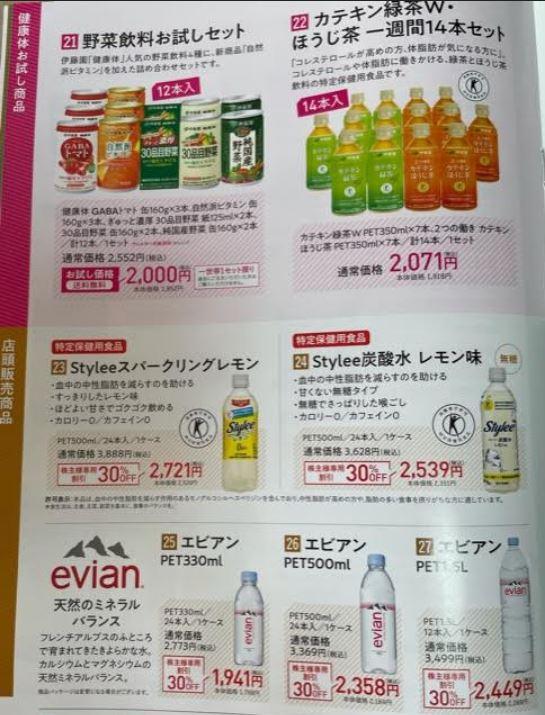 30%OFF.株主様限定クーポン-伊藤園3.