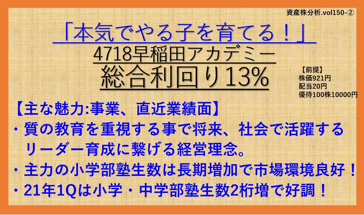 資産株-早稲田アカデミー4718-2