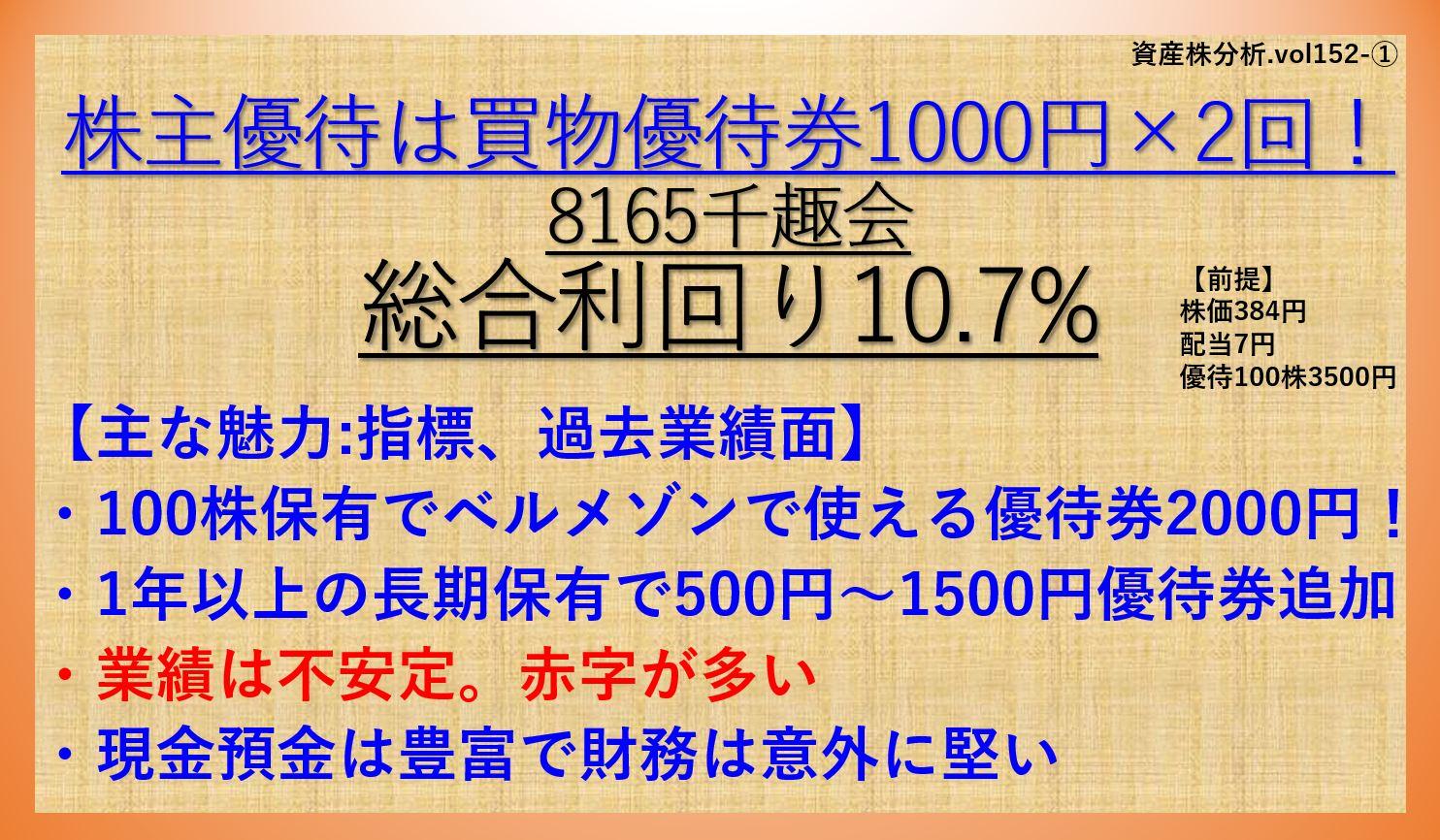 資産株-千趣会-8165-①