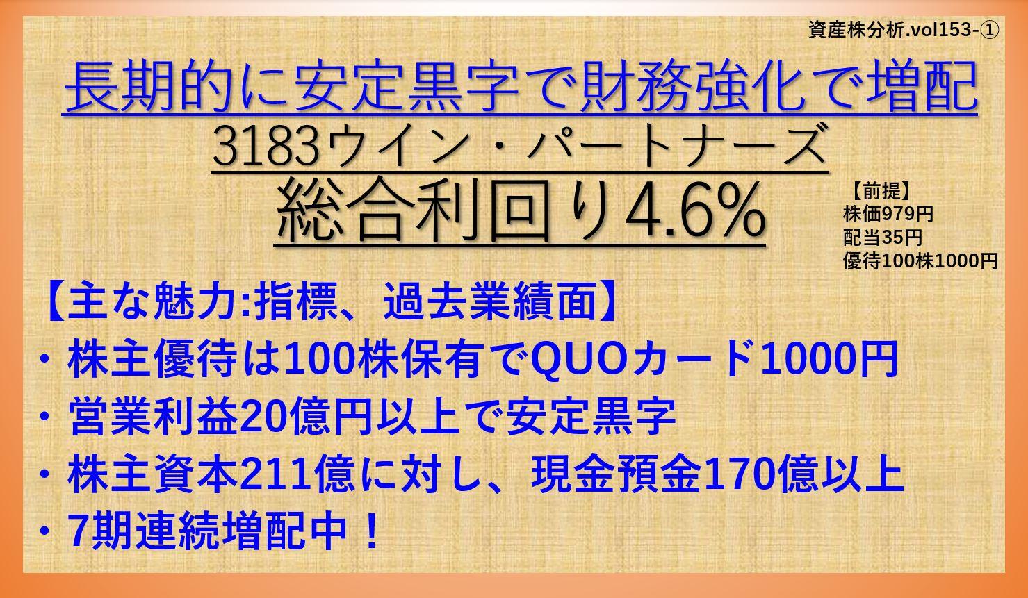 資産株-3183-ウイン・パートナーズ-①